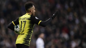 Aubameyang Real Madrid Borussia Dortmund UEFA Champions League