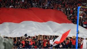 Suporter Indonesia U-16