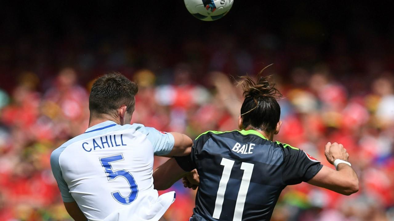 HD Gary Cahill Gareth Bale England Wales Euro 2016