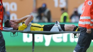 Julian Weigl injury Borussia Dortmund Bundesliga 051317