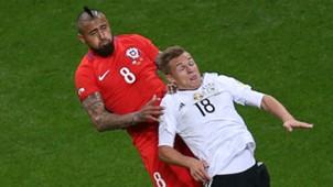 Arturo Vidal Joshua Kimmich Chile Germany Confederations 220617