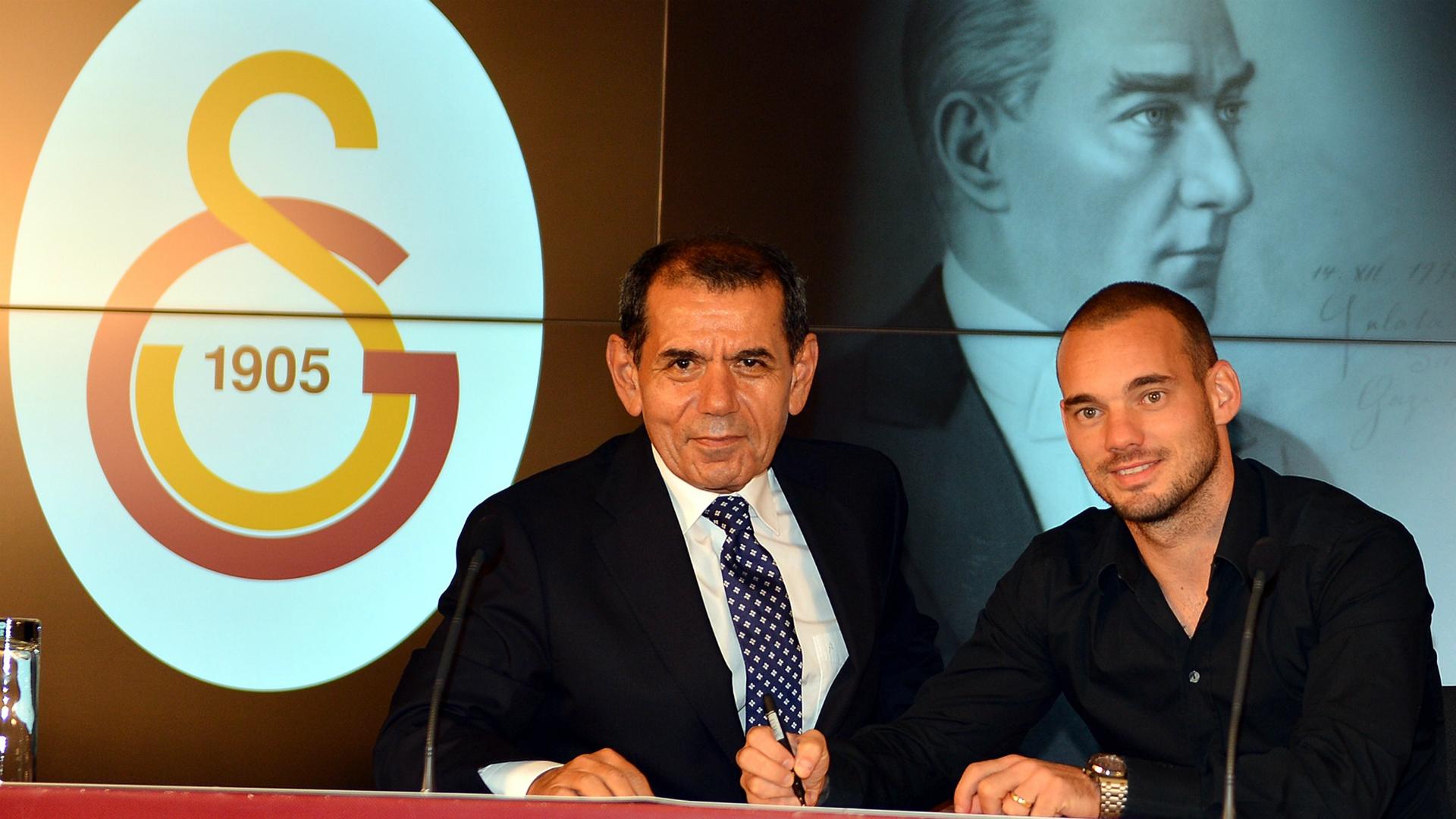 Dursun Ozbek Wesley Sneijder 2015