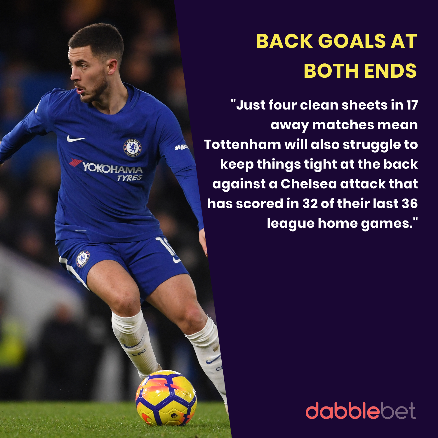 Chelsea v Tottenham Betting preview