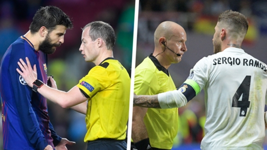 5d7e14a0706 The truth on whether Barcelona or Real Madrid receive more red cards