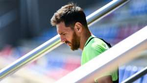 Lionel Messi Barcelona training 16052017