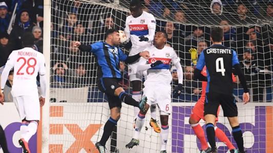 Andrea Petagna Bryan Cristanta Atalanta Lione Europa League