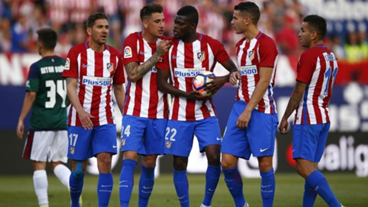 Thomas Partey - Atletico Madrid 15042017