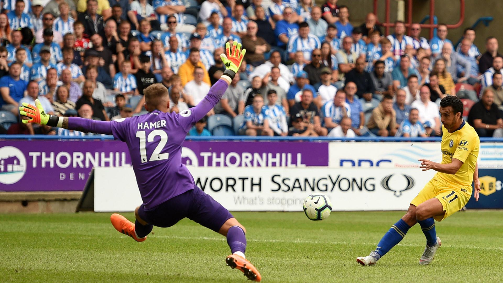 Pedro Rodriguez goal Hudderfield Town vs Chelsea Premier League 2018-19