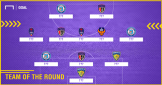ISL 2017-18 Team of the Round 10