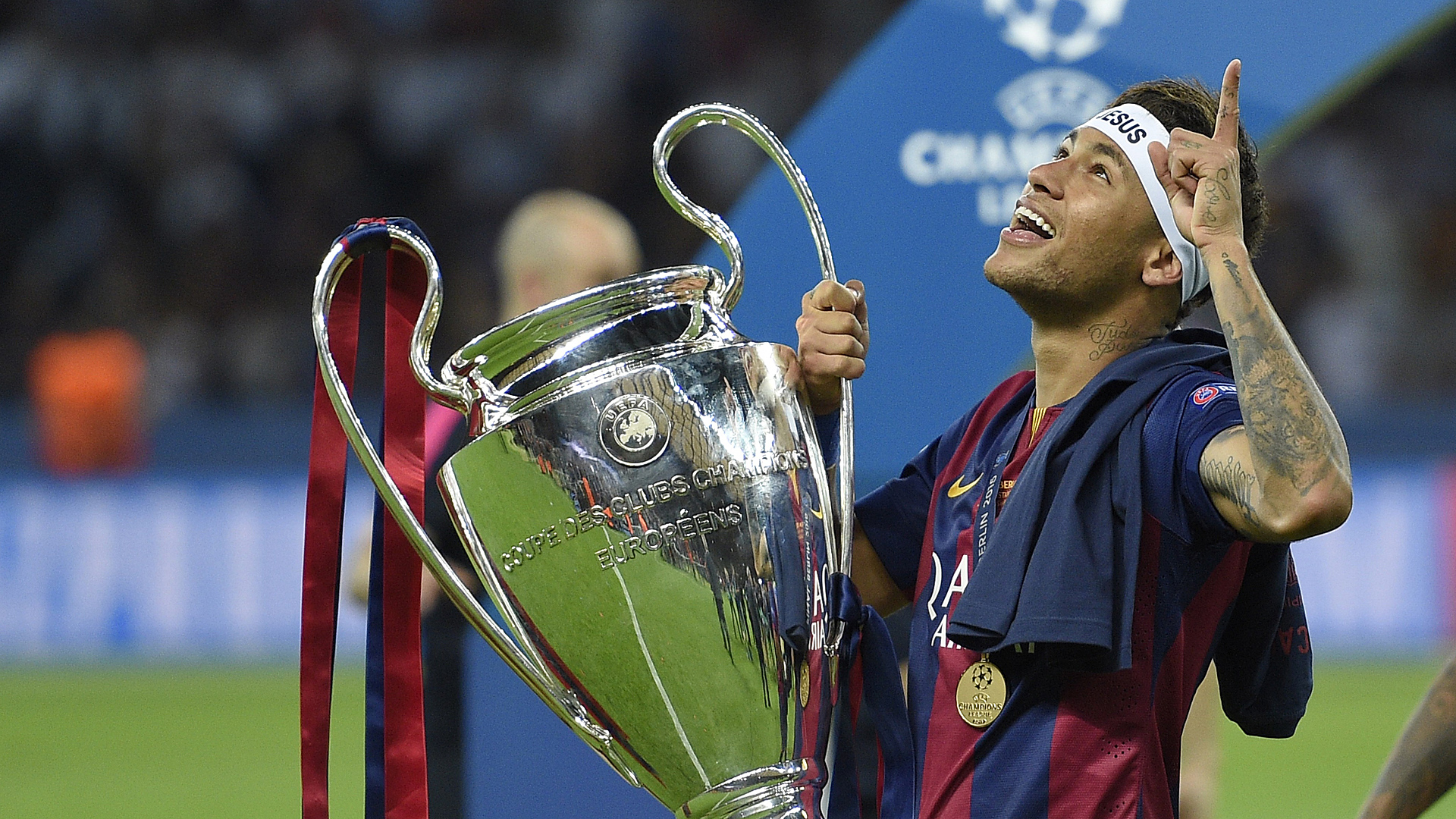 Neymar Champions League FC barcelona