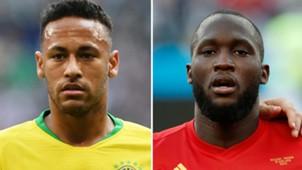 Neymar - Romelu Lukaku