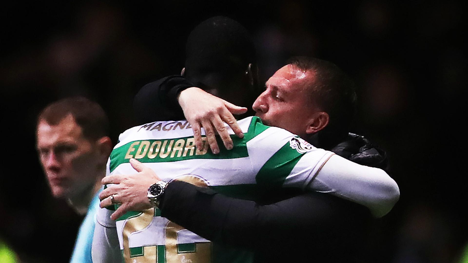 Odsonne Edouard Brendan Rodgers Celtic