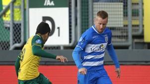 Mike van Duinen, PEC Zwolle, 11042018