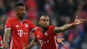 Arturo Vidal Jerome Boateng FC Bayern 12042017