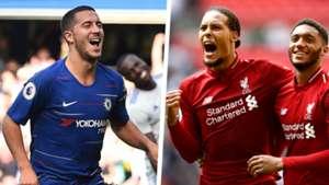 Chelsea Liverpool 2018-19 Split