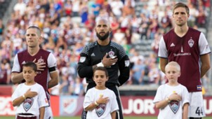 Axel Sjoberg Sam Cronin Tim Howard Colorado Rapids