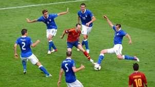 Andres Iniesta Spain Italia Euro