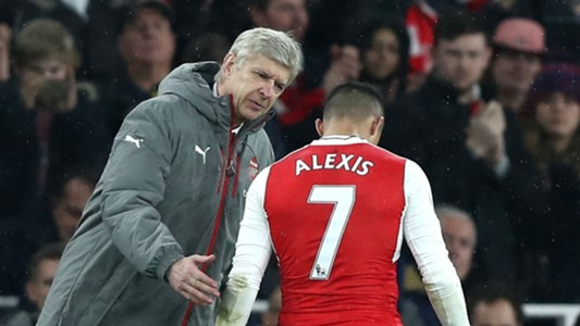 Arsene Wenger Alexis Sanchez Arsenal