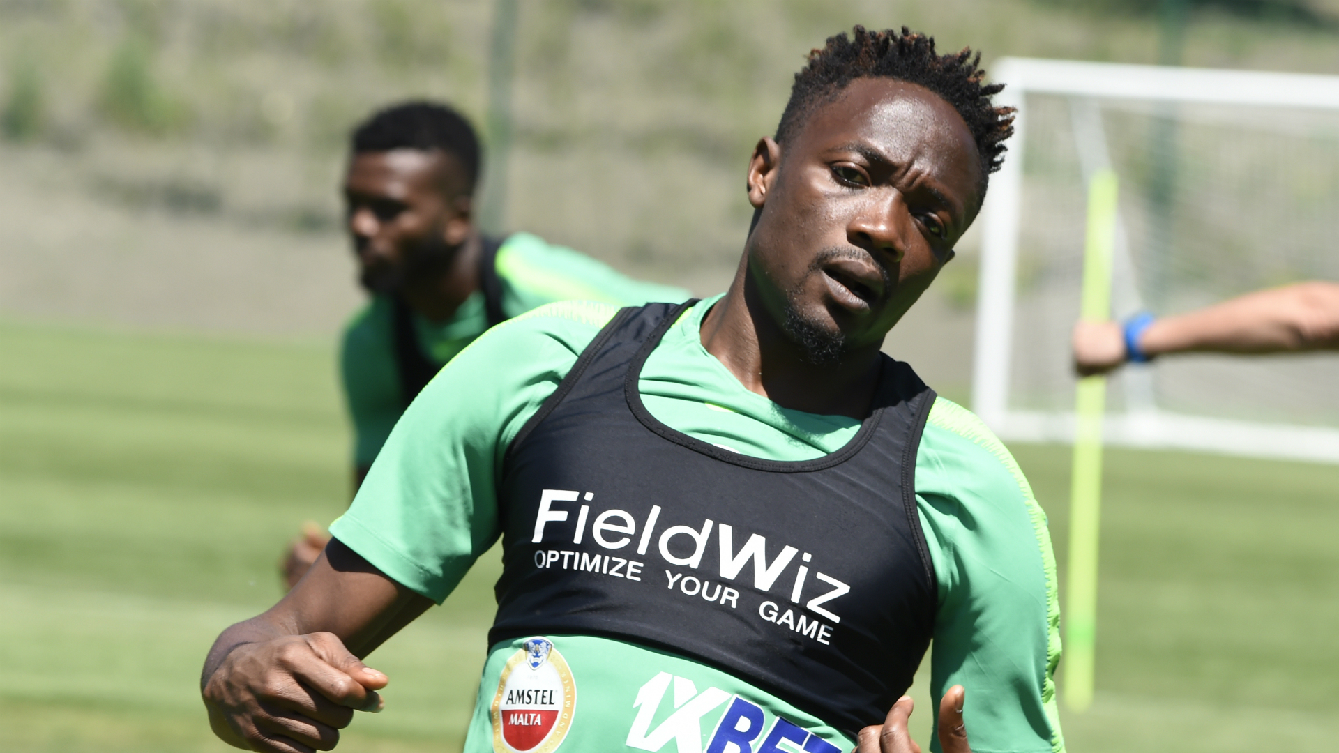 Nigeria training - Ahmed Musa