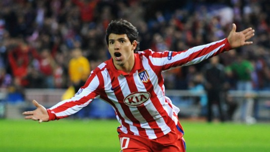 Image result for aguero atletico
