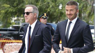 David Beckham Jorge Mas Miami MLS 2018
