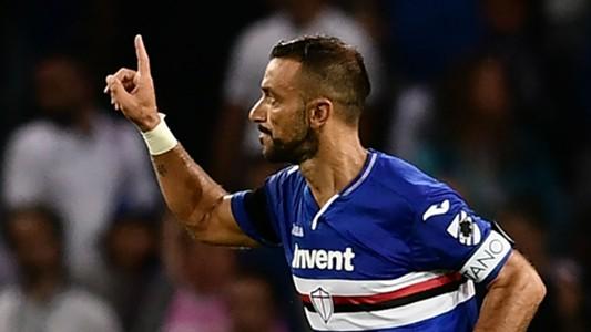 Fabio Quagliarella Sampdoria Napoli