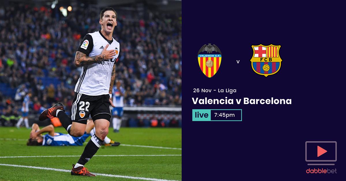 Valencia Barcelona graphic