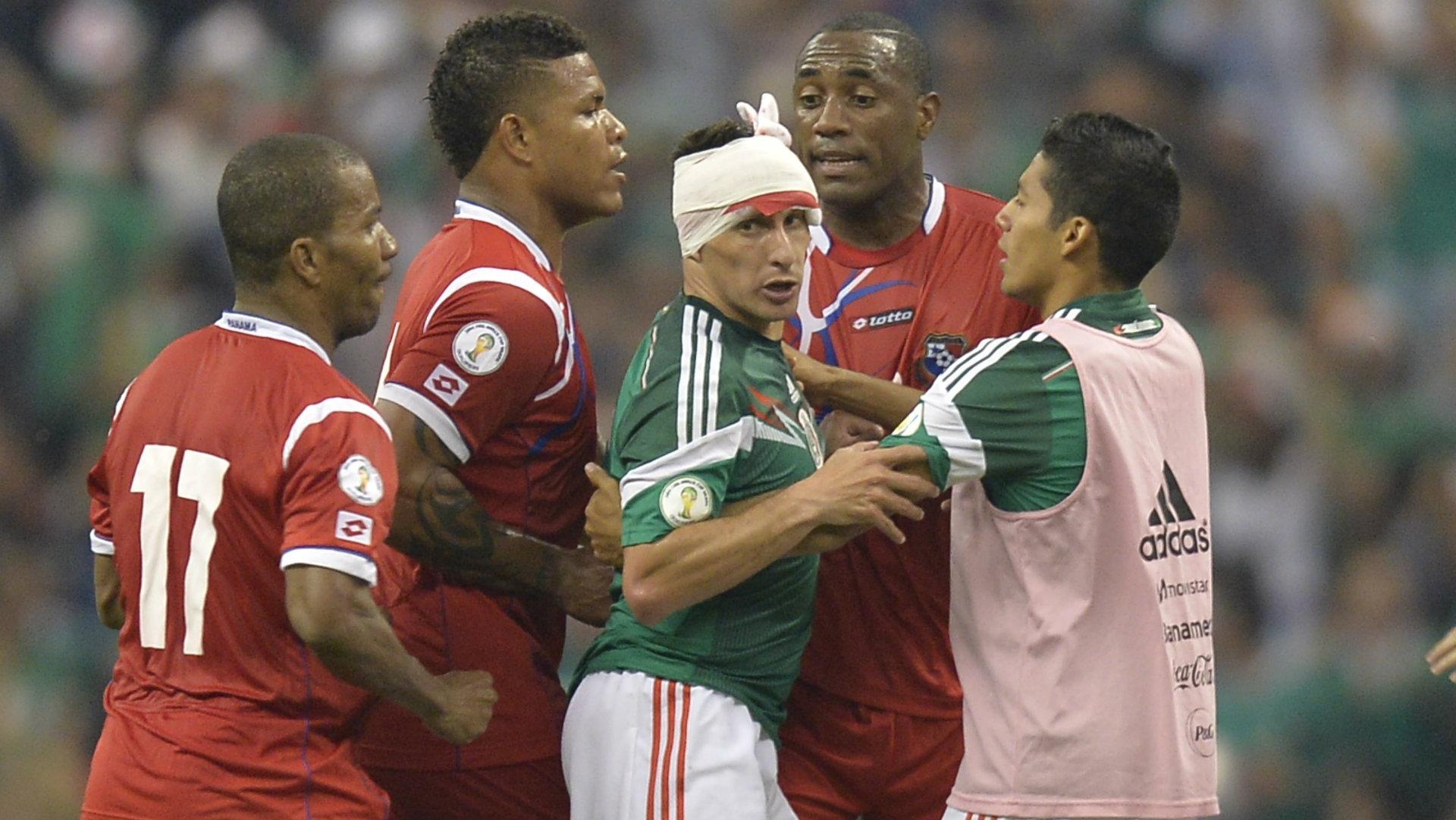 Christián Chaco Giménez Selección mexicana 111018