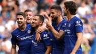 Eden Hazard Chelsea goal celebration 2018-19