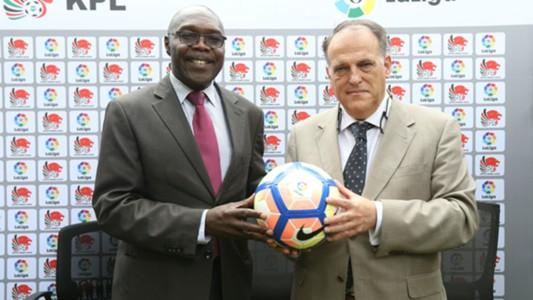 La Liga President and KPL chairman Ambrose Rachier