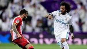 Cristian Portugues Marcelo Real Madrid Girona LaLiga 18032018