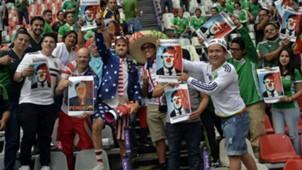 México vs EU aficionados junio 2017