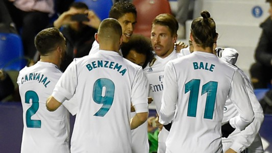 Sergio Ramos Real Madrid Levante