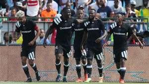 Orlando Pirates players, Abbubaker Mobara, Ntsikelelo Nyauza, Mpho Makola & Thabiso Kutumela