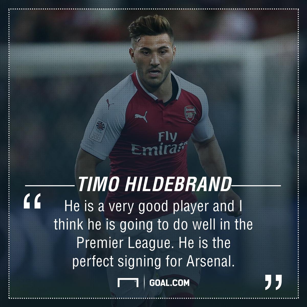 Sead Kolasinac Timo Hildebrand Arsenal