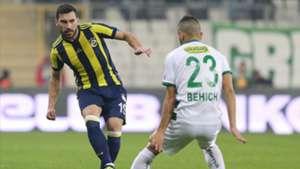Sener Ozbayrakli Aziz Behich Bursaspor Fenerbahce 8102017