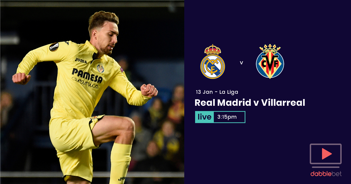 Pablo Fornals Scores Late as Villarreal Beats Real Madrid 1-0