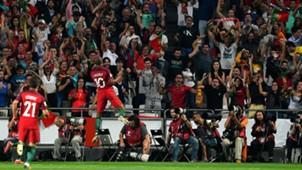 Portugal celebrating Portugal Switzerland