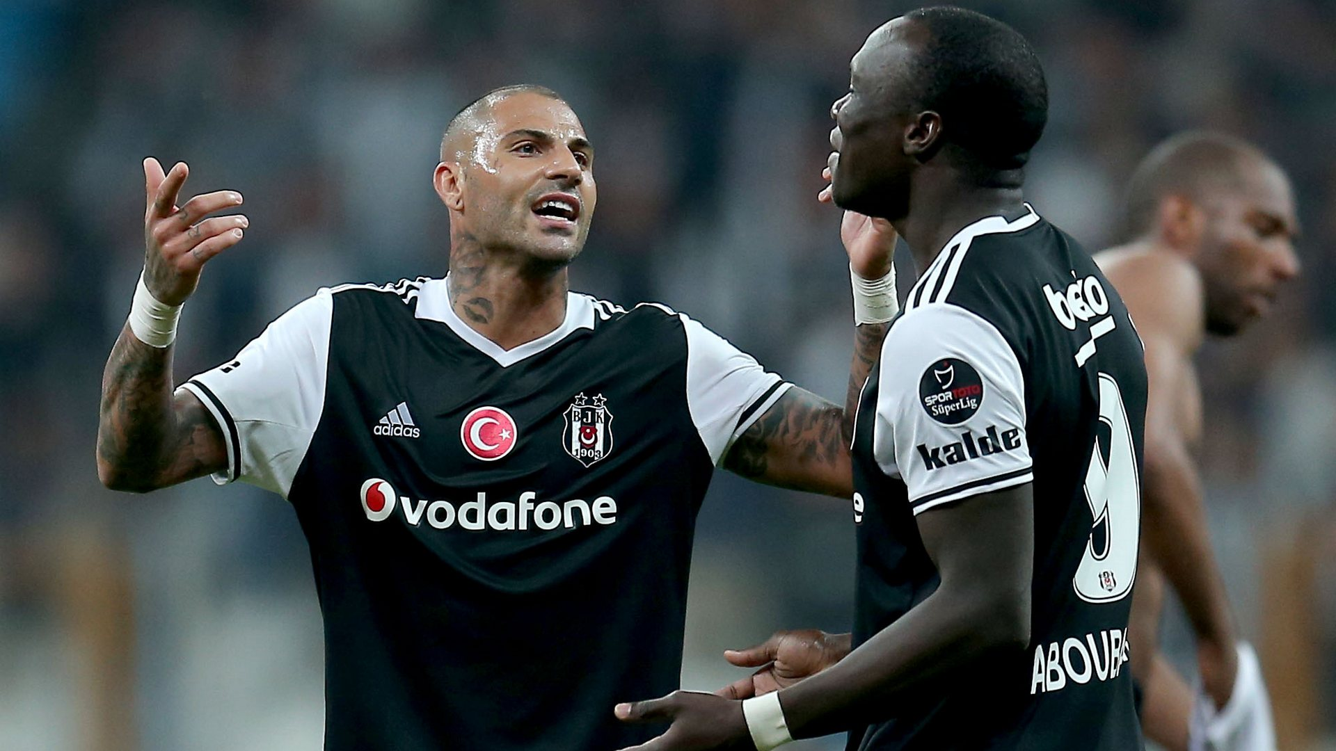 Ricardo Quaresma Vincent Aboubakar Besiktas