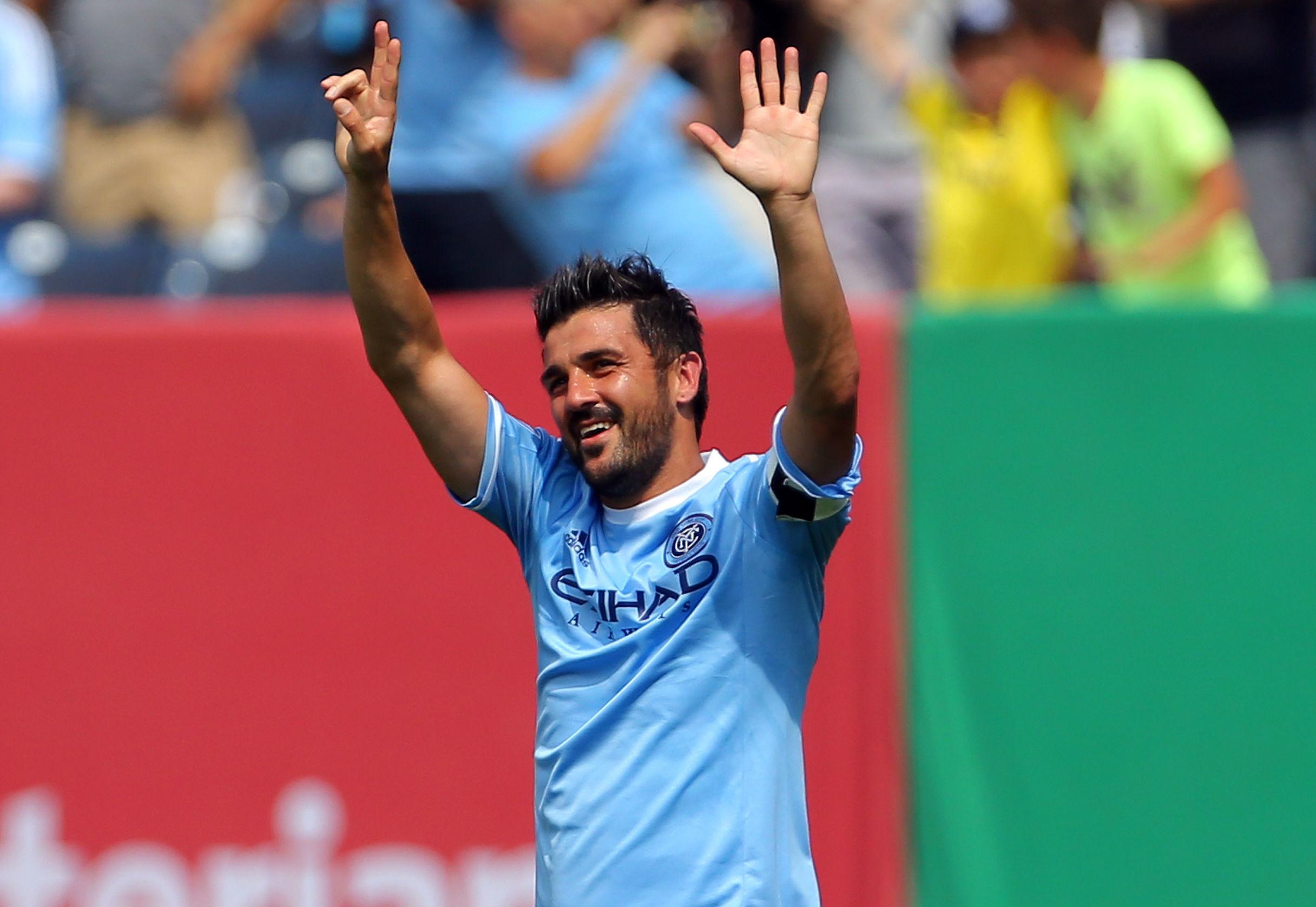 David Villa nach drei Jahren wieder für die spanische Nationalmannschaft nominiert