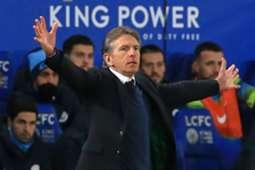 Claude Puel - Leicester City 2018