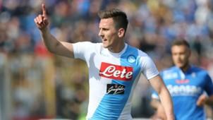 Arkadiusz Milik Napoli Serie A 2016-17