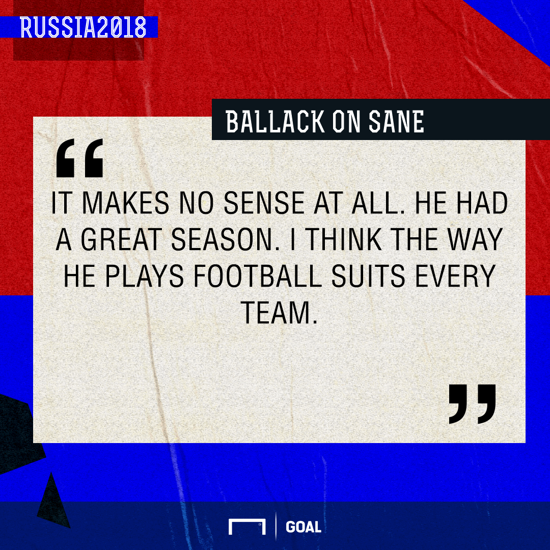Ballack Sane Germany PS