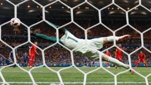 Thibaut Courtois Belgica Japon Copa del Mundo 2018