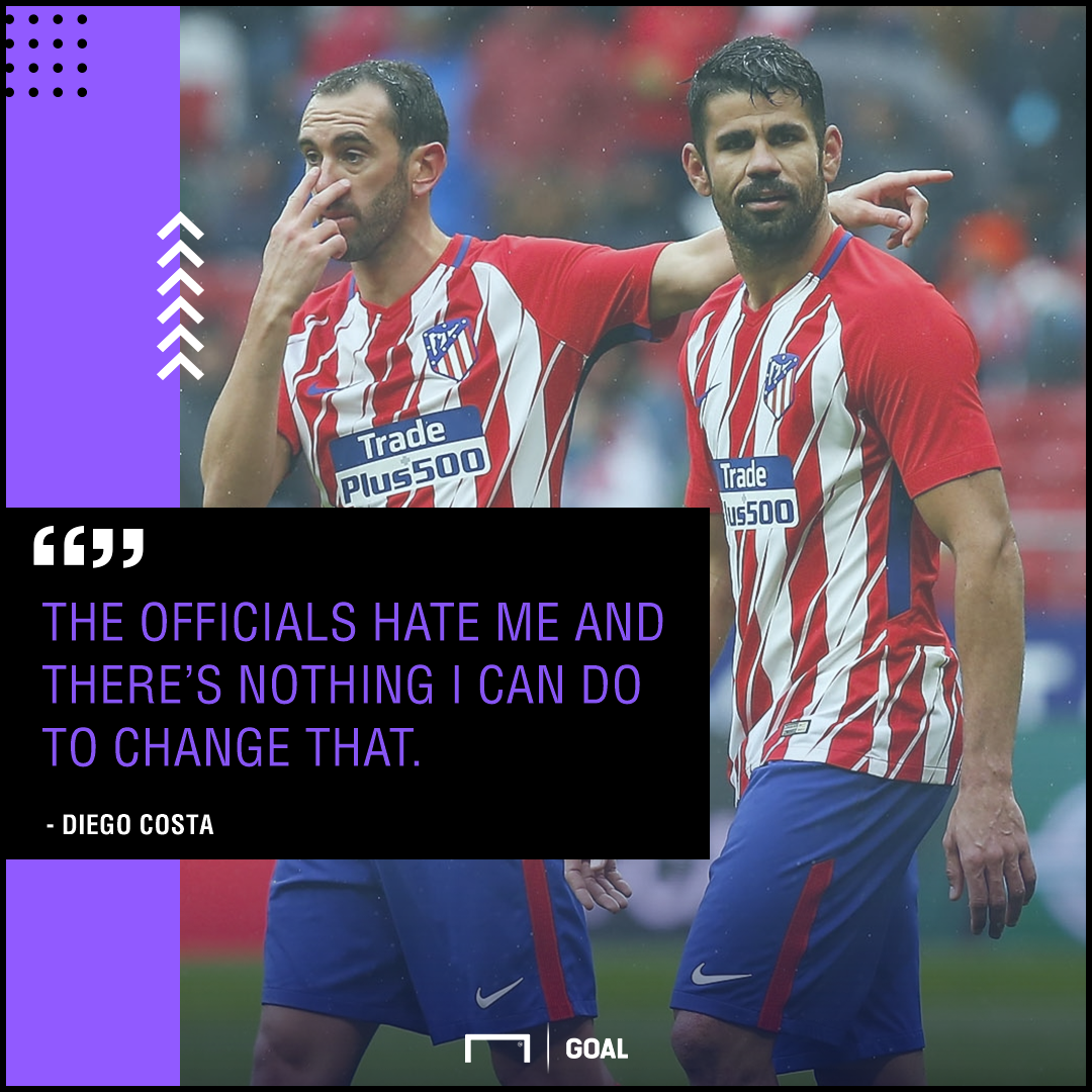 Diego Costa officials hate me