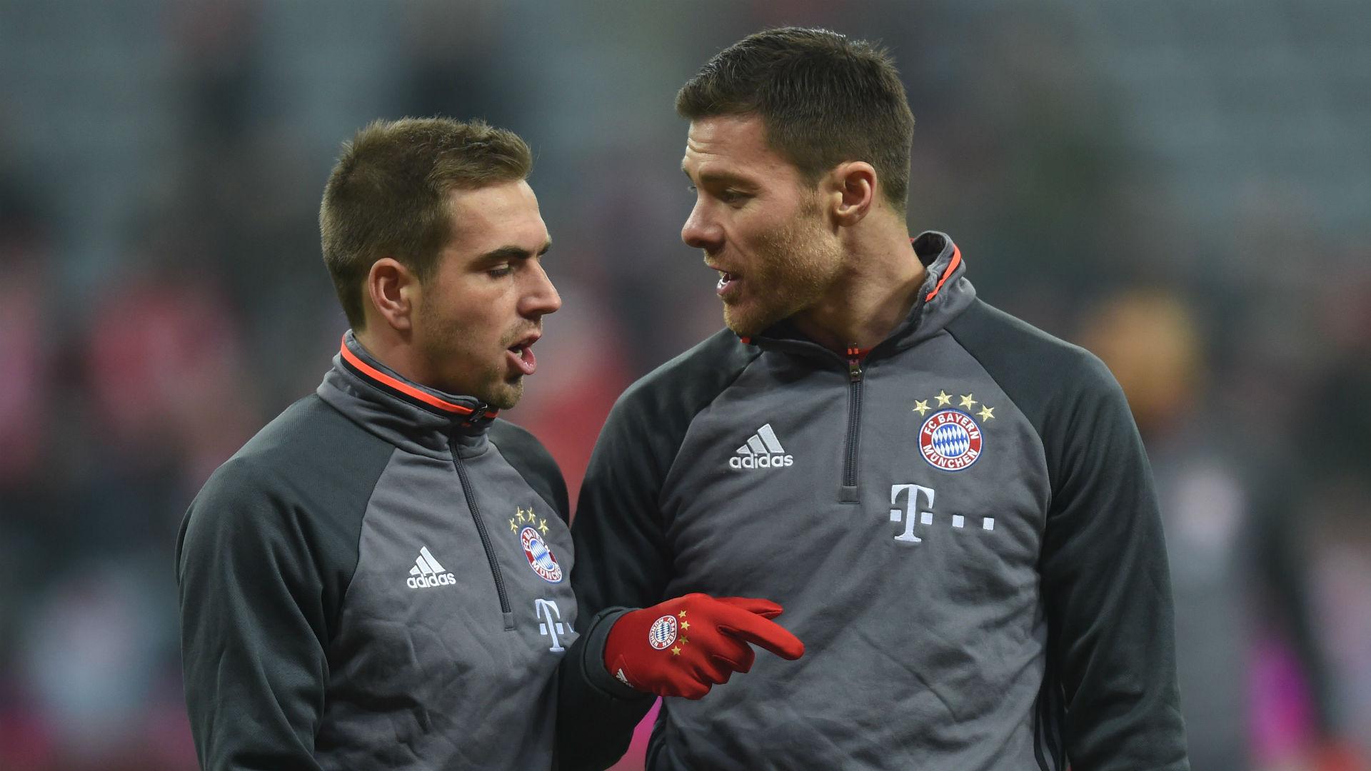 Philipp Lahm Xabi Alonso Bayern Munich