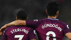 Raheem Sterling Ilkay Gundogan Manchester City