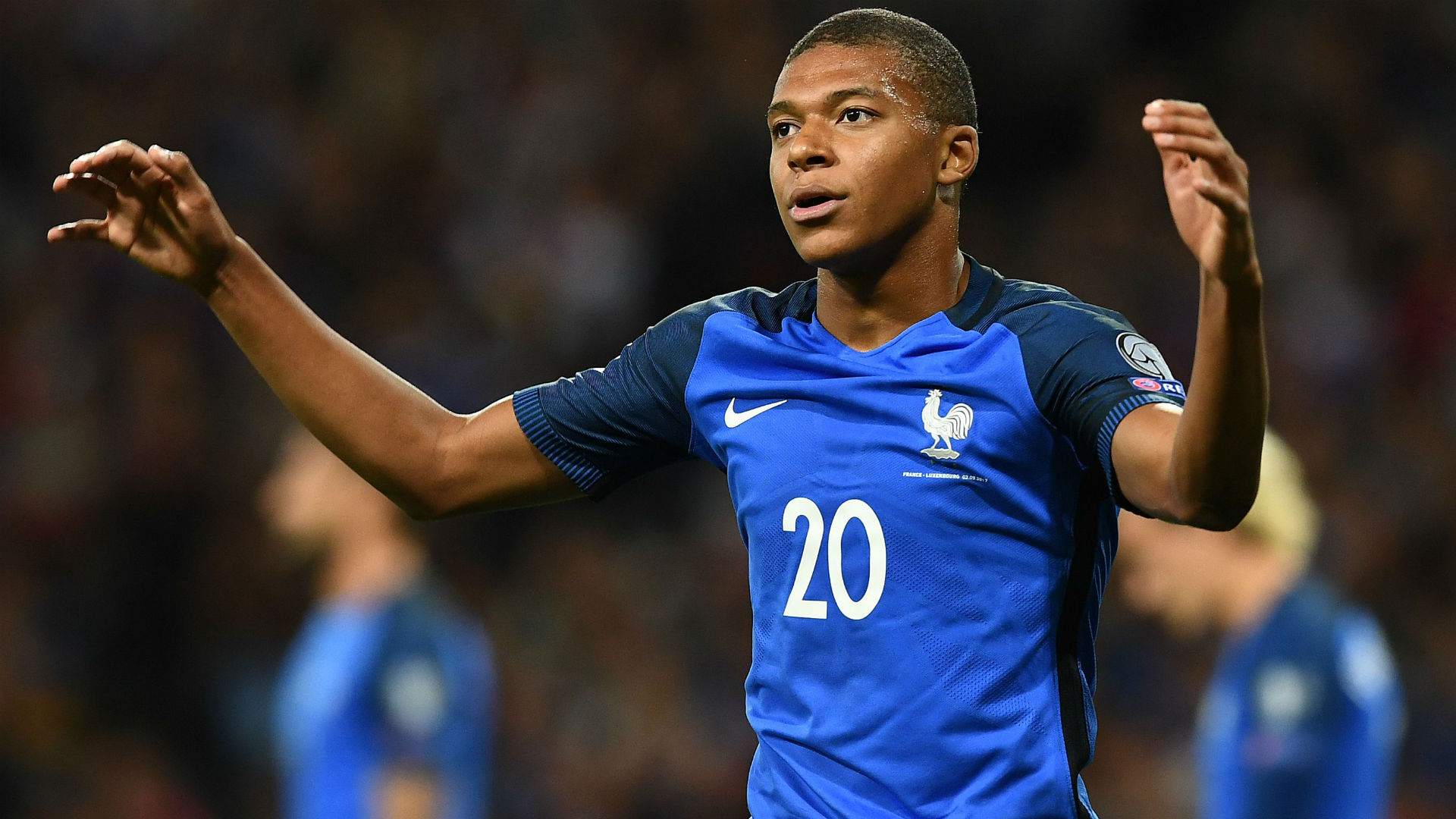 Kylian Mbappe France Luxembourg World Cup Qualifiers 03092017