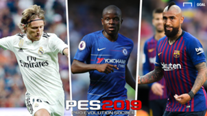 PES 2019 Top 10 Midfielders