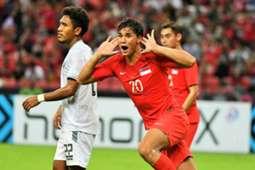 Ikhsan Fandi, Singapore, AFF Championship, 21112018